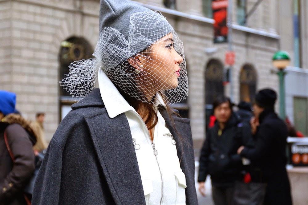 Redecillas street style NYFW feb 15