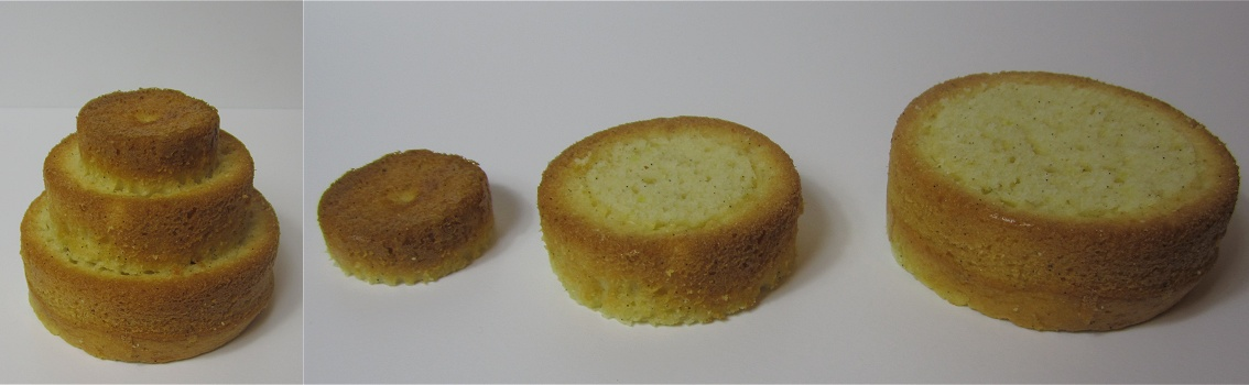 Mini-Vanilletörtchen mit Marmelade Anleitung