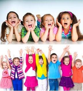 تعبير عن اليوم العالمي للطفولة.