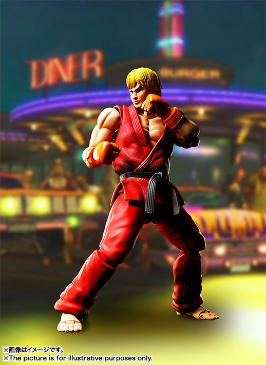 "S.H.Figuarts Ken Masters de ""Street Fighter"" - Tamashii Nations"