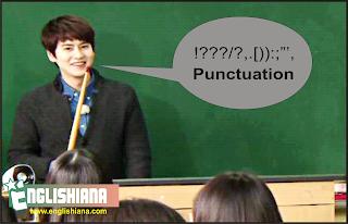 Tanda Baca dalam Bahasa Inggris dan Contohnya (Punctuation)
