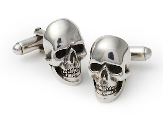 Skull Cufflinks from The Great Frog
