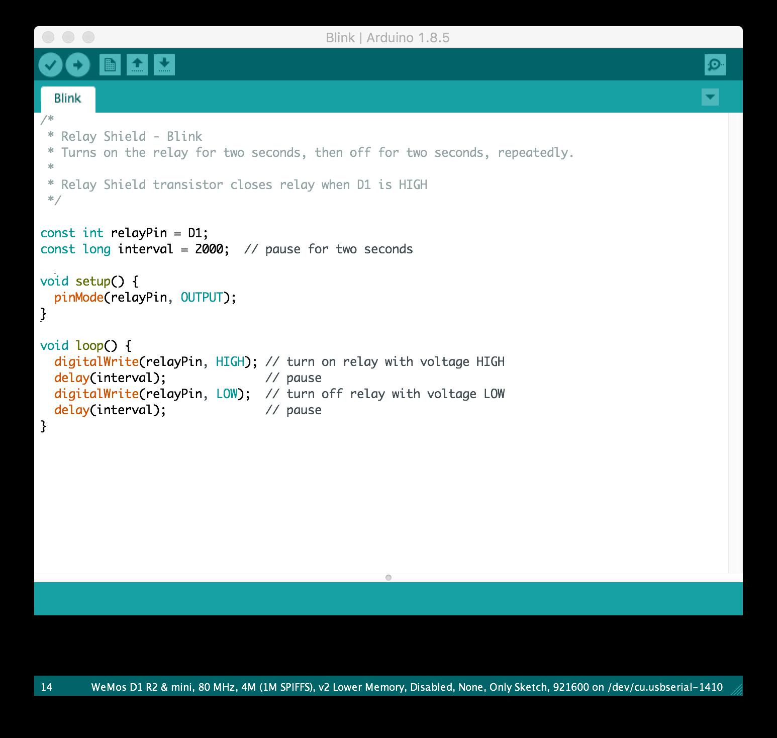 Come programmare un ESP8266