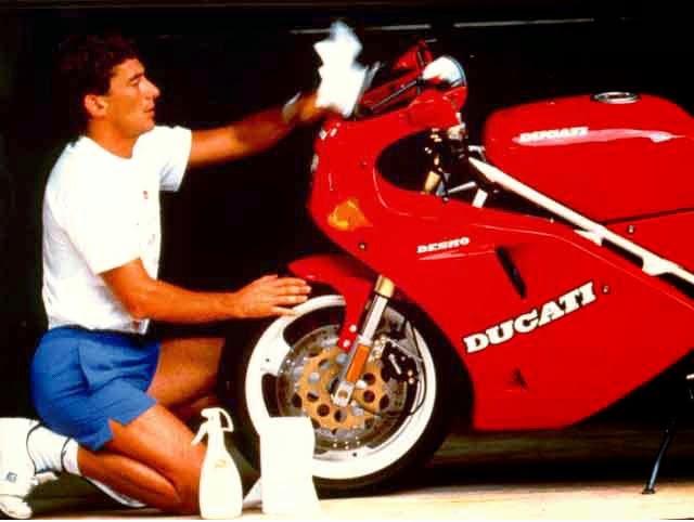 senna Ducati - Ayrton Senna - a nossa homenagem.