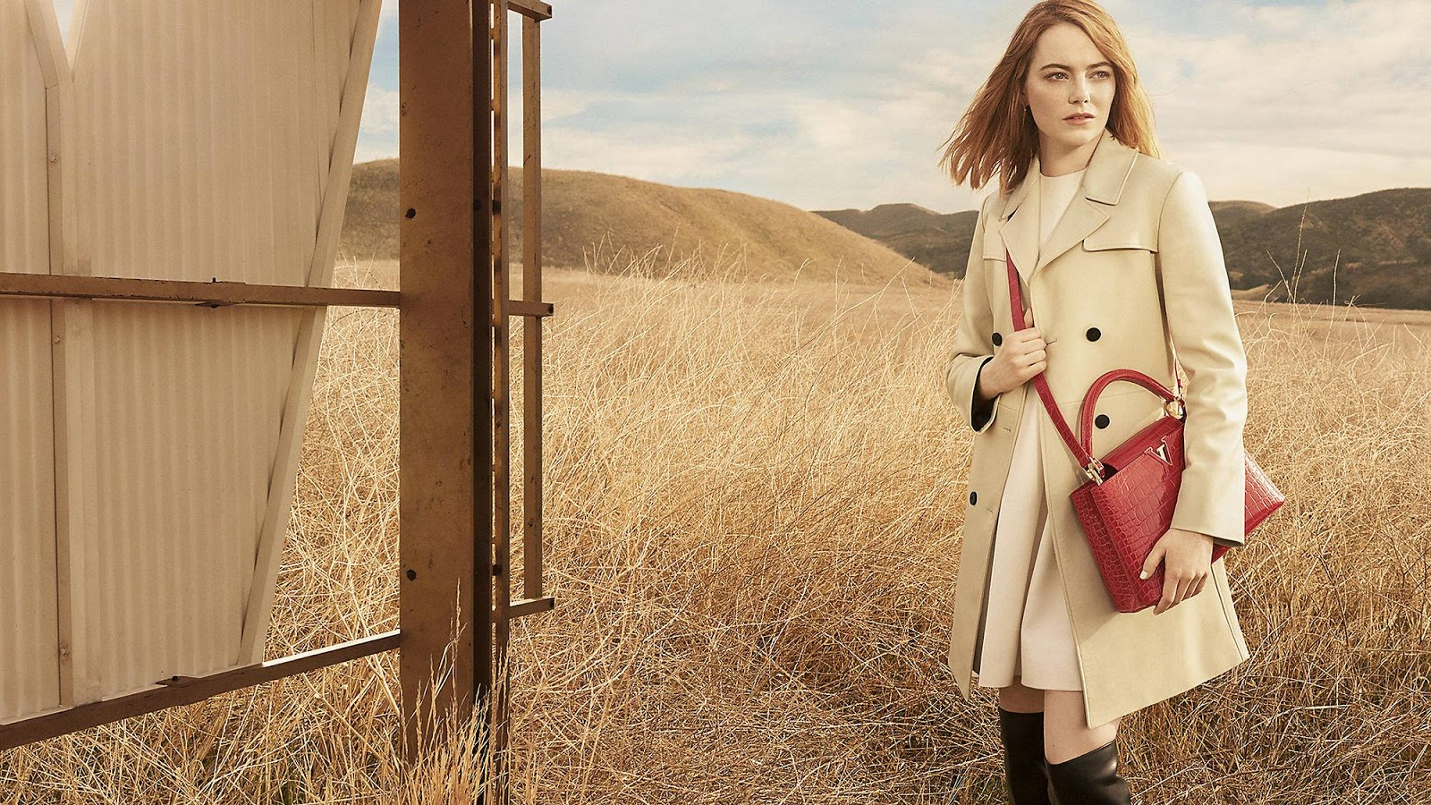 Louis Vuitton 'Spirit of Travel' 2018 Campaign ft. Emma Stone