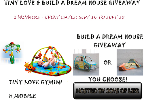 Tiny Love Build A Dream House Event Free Blogger Sign