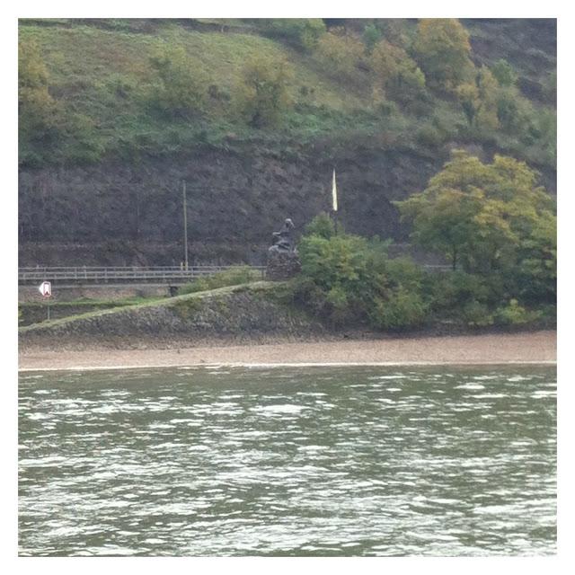 passeio de barco pelo rio Reno entro Rüdesheim e Koblenz - Loreley