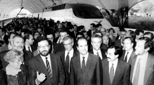 25 aniversario del AVE Madrid Sevilla