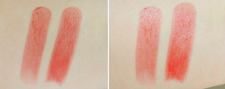 Givenchy Rouge Interdit Vinyl review swatch Rouge Provocant