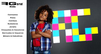 RG 512 Kids, ropa urban para niños