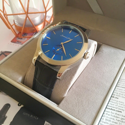 Samuel Joseph Mens Watch Review and Giveaway*