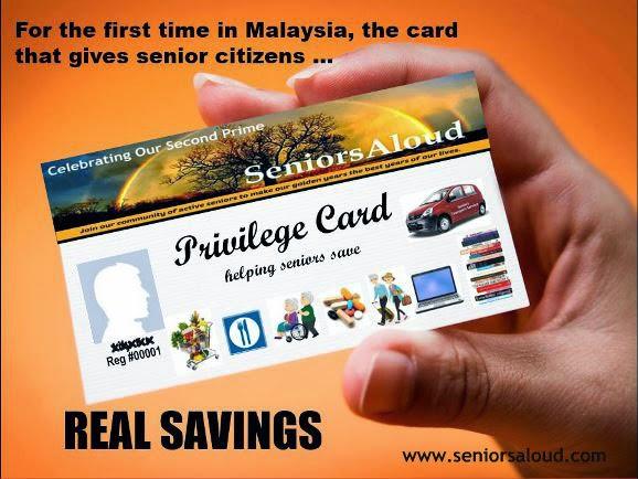 SeniorsAloud: TIME WE HAD A SENIOR PRIVILEGE CARD