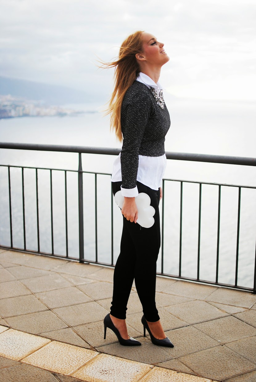 Nery Hdez, zara necklace, front row shop bloggers, zara shoes, leggins