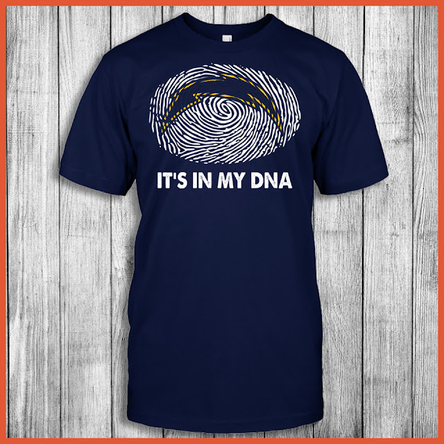 San Diego Chargers - It's In My DNA T-Shirt