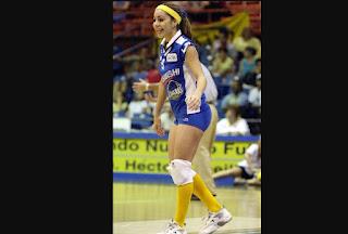 Suanette Garcia voliball