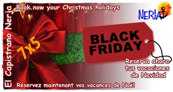 Reserva en el Black Friday tus vacaciones de Navidad en El Capistrano