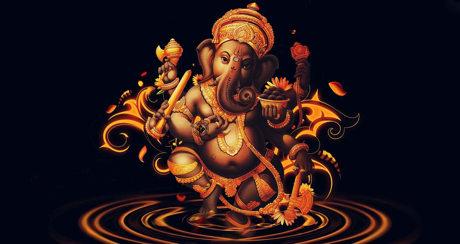 Lord Ganesha Latest Hd Images Free Downloads: Wallpaper HD: Ganesha HD New Wallpapers Free Download