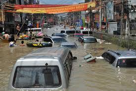Heavy rainfall in China