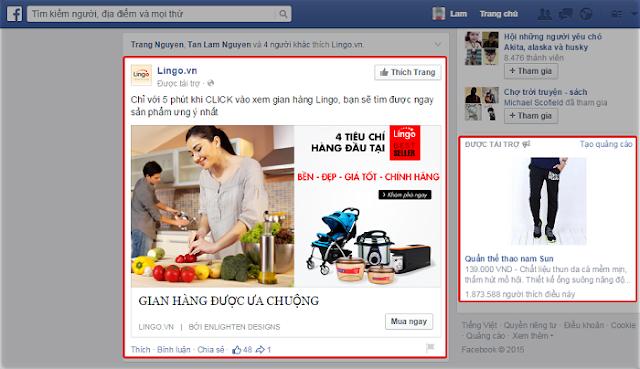 Quảng cáo facebook ads dạng cơ bản
