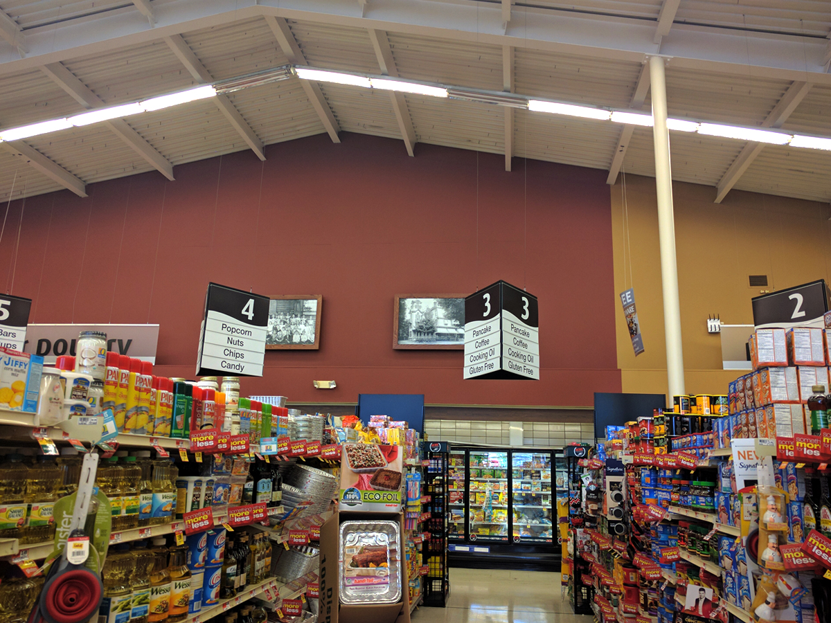The clayton acme is one of the very few stores with a true corner deli why it s not branded as such is a real shame market deli is a royally lame
