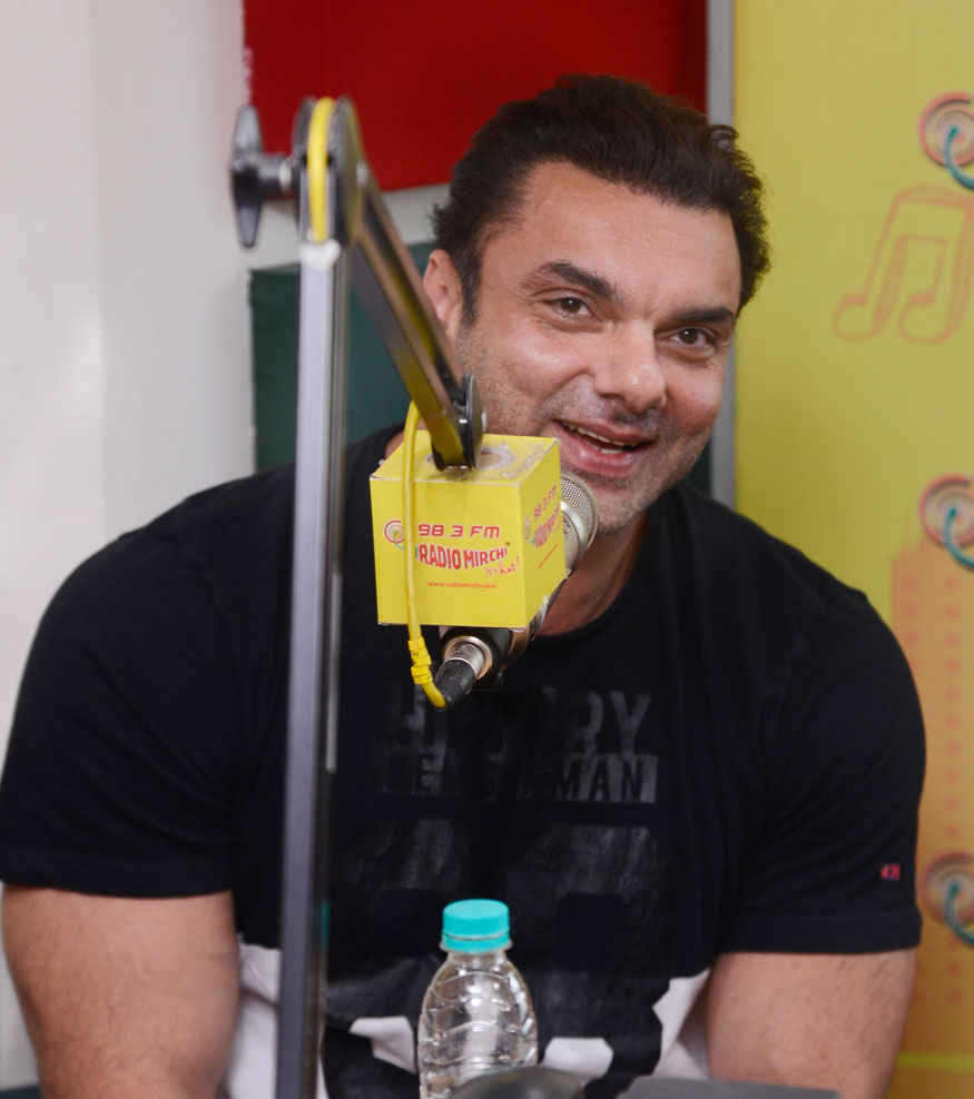 Sohail Khan Promoting Movie 'Tubelight' at Mirchi Studio Mumbai