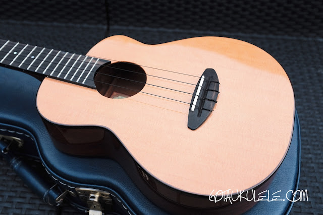 aNueNue Light Bird Tenor Ukulele body