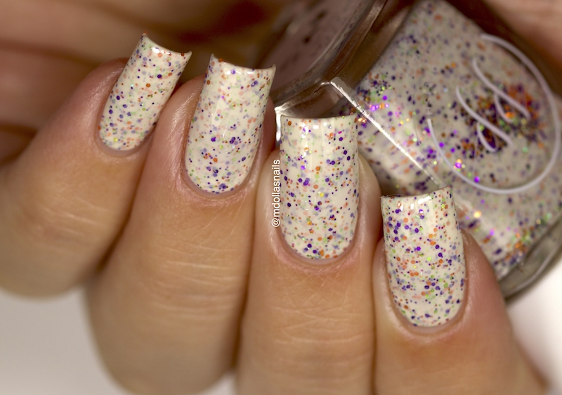 Mdollas nails: Painted Polish- Get your ghost on