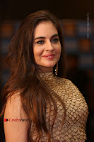 Actress Model Sarah Hopkins Latest Pos in Lehenga Choli at SIIMA Short Film Awards 2017 .COM 0029.JPG