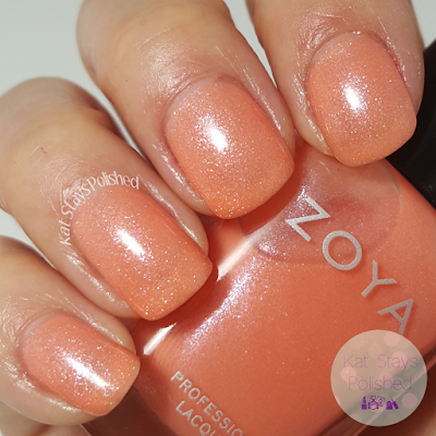 Zoya Petals 2016 - Zahara | Kat Stays Polished