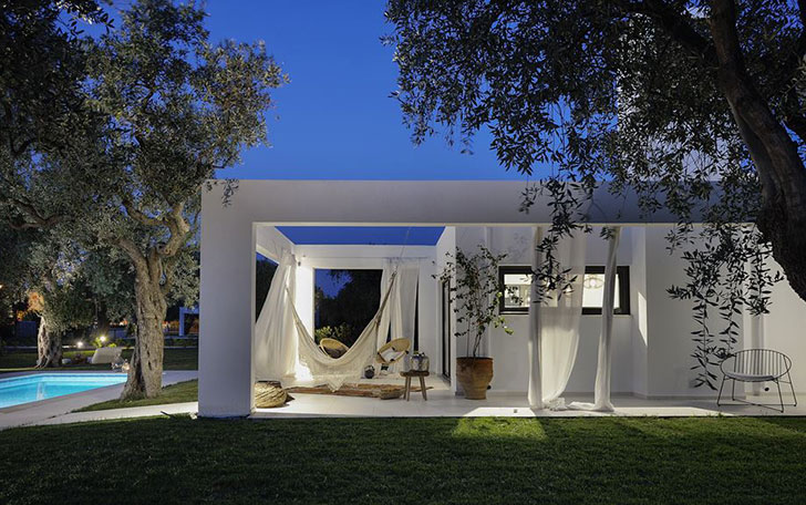 A Contemporary Villa On The Island Of Thassos, Greece