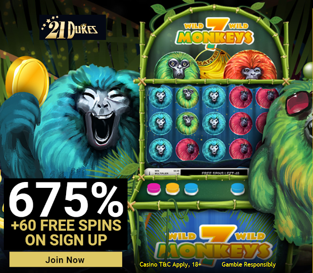 21Dukes Casino Welcome Bonuses