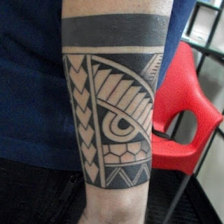 FOREARM-TRIBAL-TATTOO