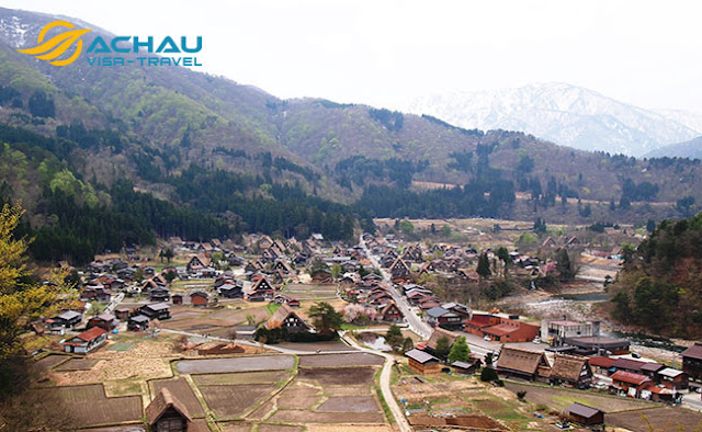 Ngôi làng được ví như làng cổ tích ở Nhật Bản1