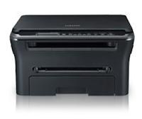 Im Display verfügt das Samsung SCX-4300 über ein ausreichendes Gehäuse in zwei Standardfarben Schwarz und Weiß