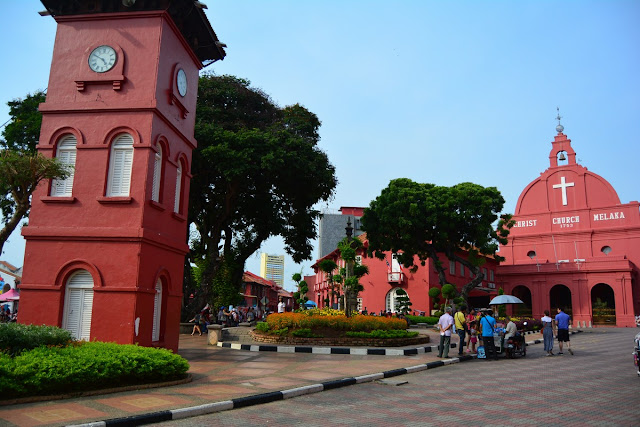 Malacca place rouge