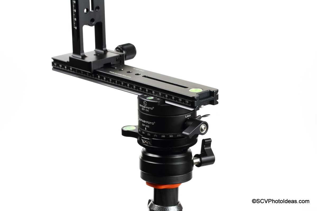 Sunwayfoto Pano-2 Panorama head Assembly w/ Sunwayfoto DDP-64SI as horizontal rotator