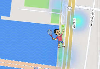 Snap Map Actionmoji Tennis