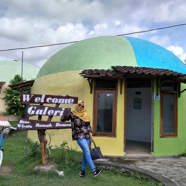 Desa wisata keren di jogja - rumah teletubies