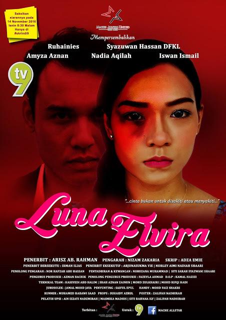 Tonton Online Telemovie Luna Elvina - TV9
