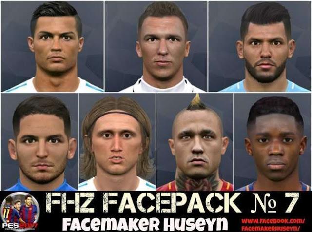 FHZ Facepack PES 2017