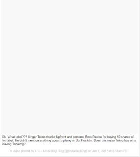 Has Tekno Left Triple MG? Read Details