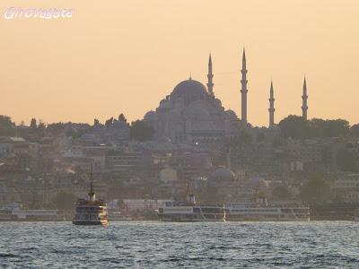 gita Bosforo Istanbul barca