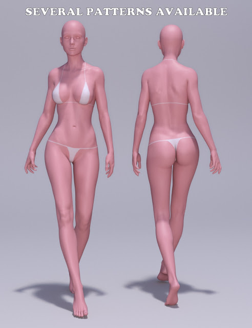 Tan Lines for Genesis 3 Female and Victoria 7