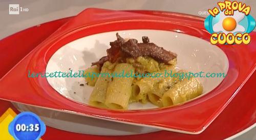 Rigatoni alla carbonara ricetta Giunta da Prova del Cuoco
