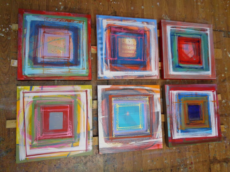 cubic abstract paintings