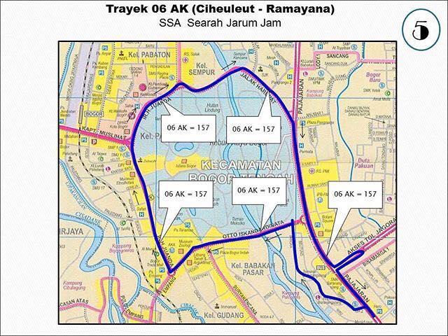 Rute Angkot Ciheuleut-Ramayana