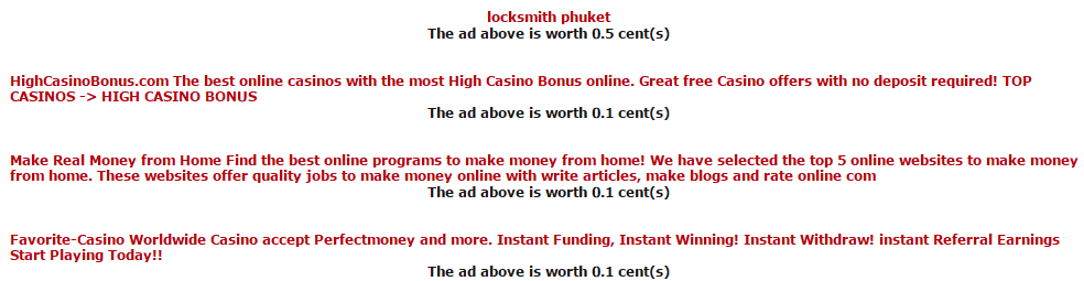 Paid to click ads | Donkey mails