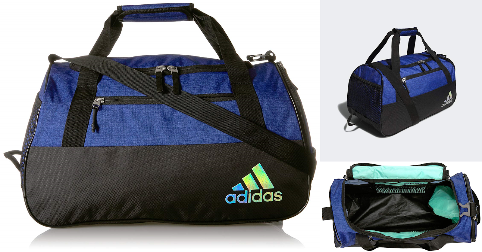 Amazon has this Adidas Squad III Duffel Bag in color Mystery Ink Blue on  sale for  18.75 (Reg.  44.40). This is made of polyester. c37f9ce1cb01f