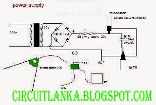 Tv Antenna Booster Schematic Diagram