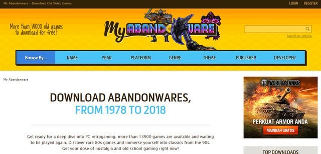 My Abandonware